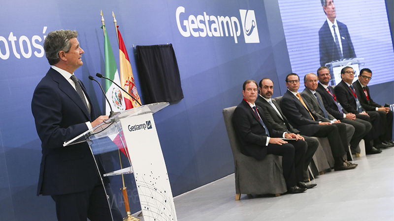 Gestamp inaugurates a new plant in Mexico